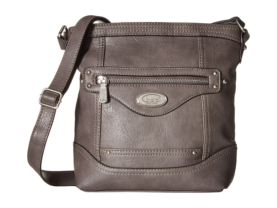 b.o.c. - Dorval Power Bank Crossbody (Charcoal) Cross Body Handbags