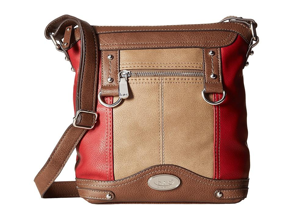 b.o.c. - Juntura Crossbody (Pimento/Mink/Chocolate) Cross Body Handbags