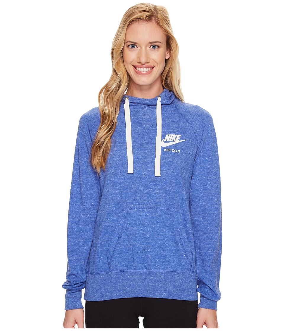 Nike - Gym Vintage Hoodie (Comet Blue/Sail) Women's Sweatshirt