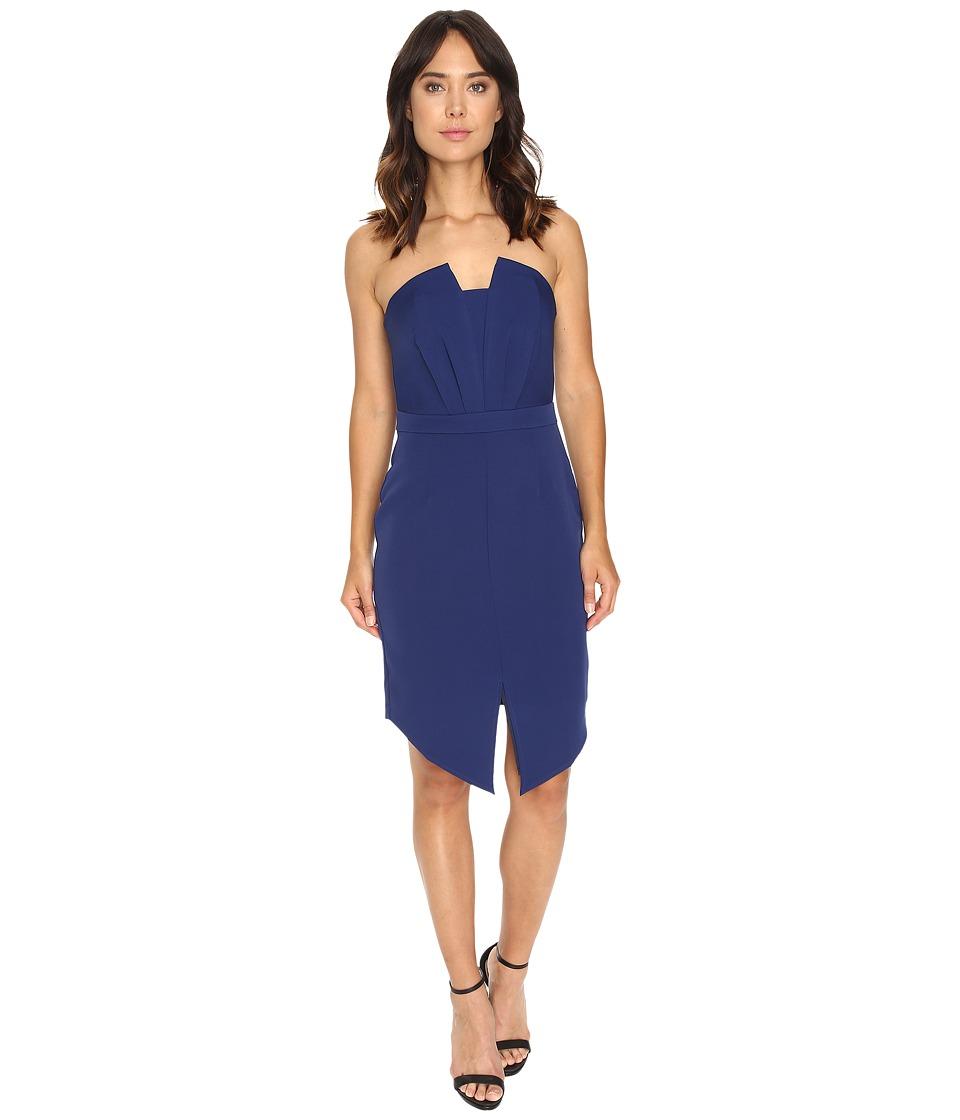 Adelyn Rae - Strapless Dress (Navy) Women's Dress