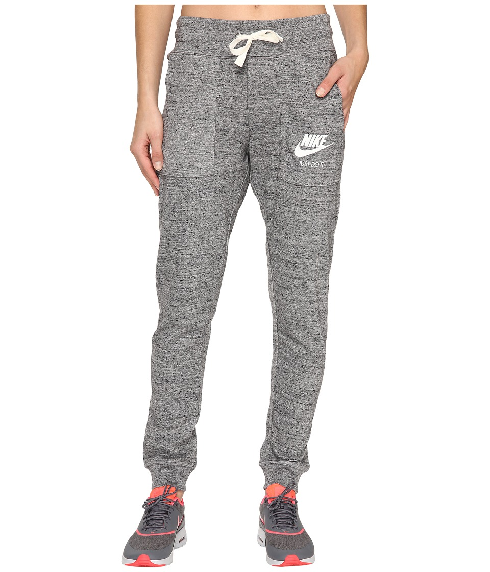 Nike - Gym Vintage Pant (Carbon Heather/Sail) Women's Casual Pants