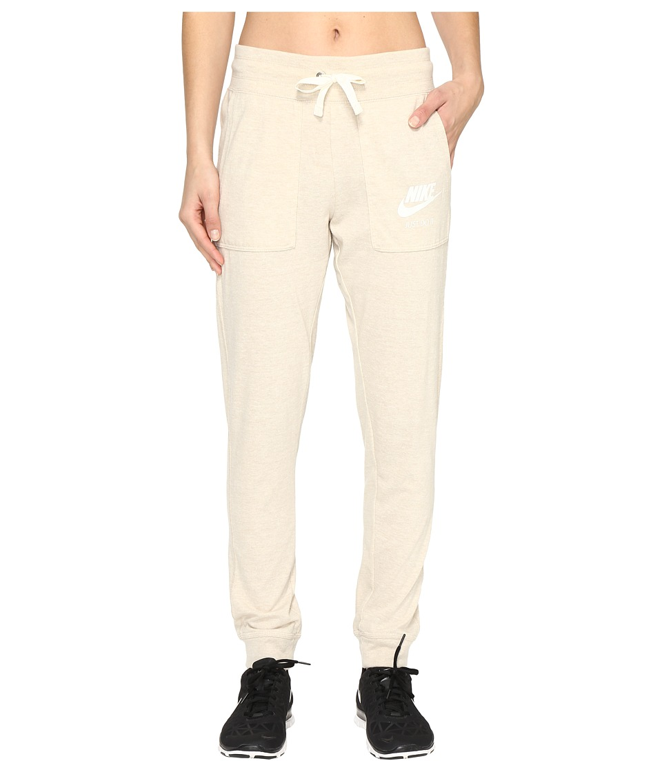 Nike - Gym Vintage Pant (Oatmeal/Sail) Women's Casual Pants