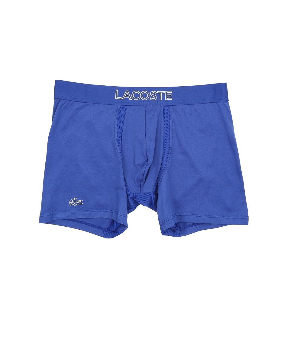 Lacoste - Ultra Dry Single Boxer Brief (Surf the Web) Men's Underwear