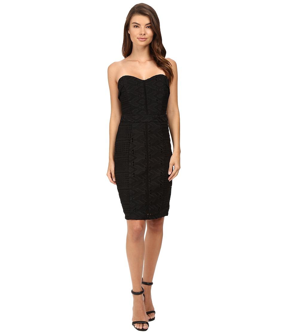 Adelyn Rae - Woven Tube Dress (Black) Women's Dress