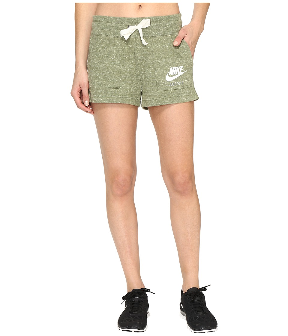Nike - Gym Vintage Shorts (Palm Green/Sail) Women's Shorts