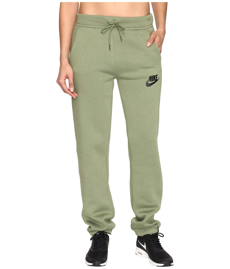 Nike - Rally Loose Pant (Palm Green/Palm Green/Black) Women's Casual Pants