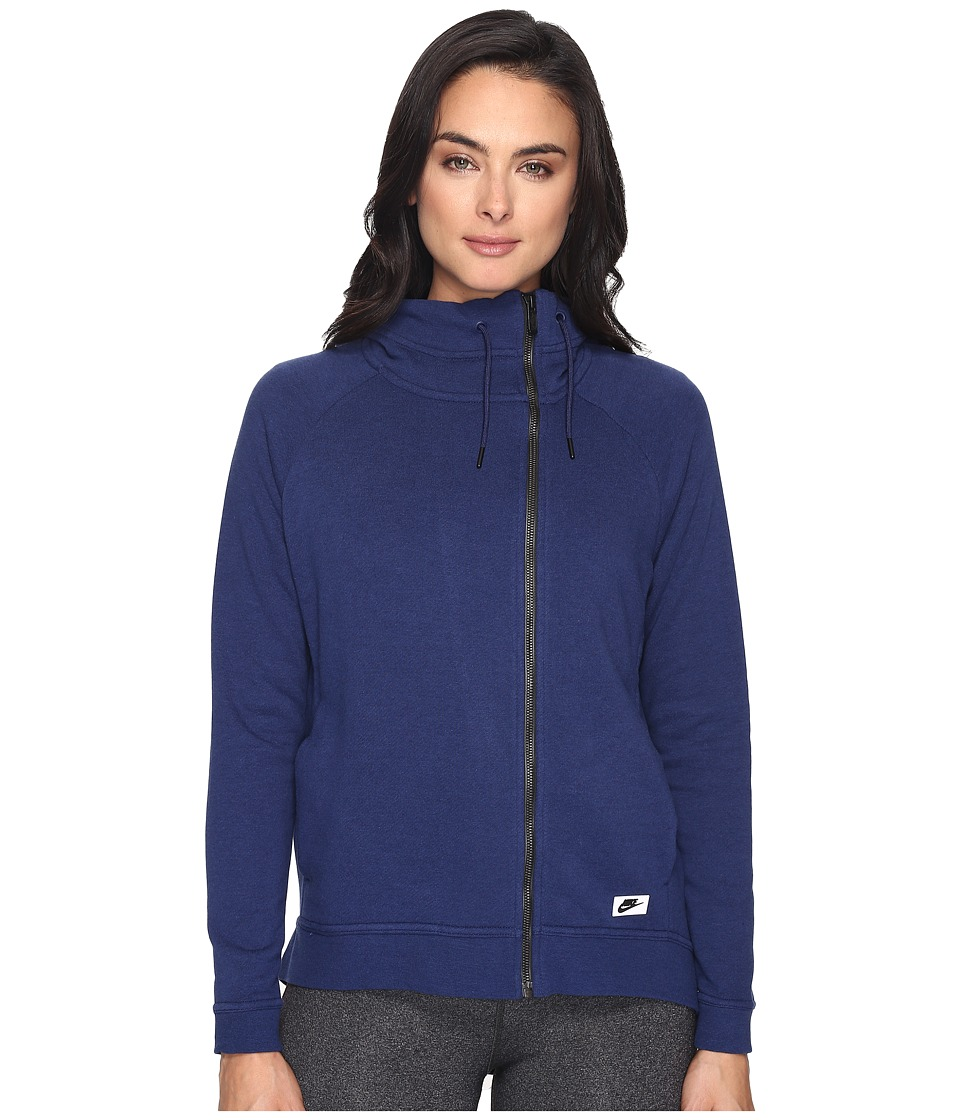 Nike - Sportswear Modern Cape (Binary Blue/Binary Blue) Women's Clothing