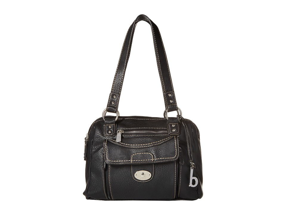 b.o.c. - Waltham Satchel (Black) Satchel Handbags