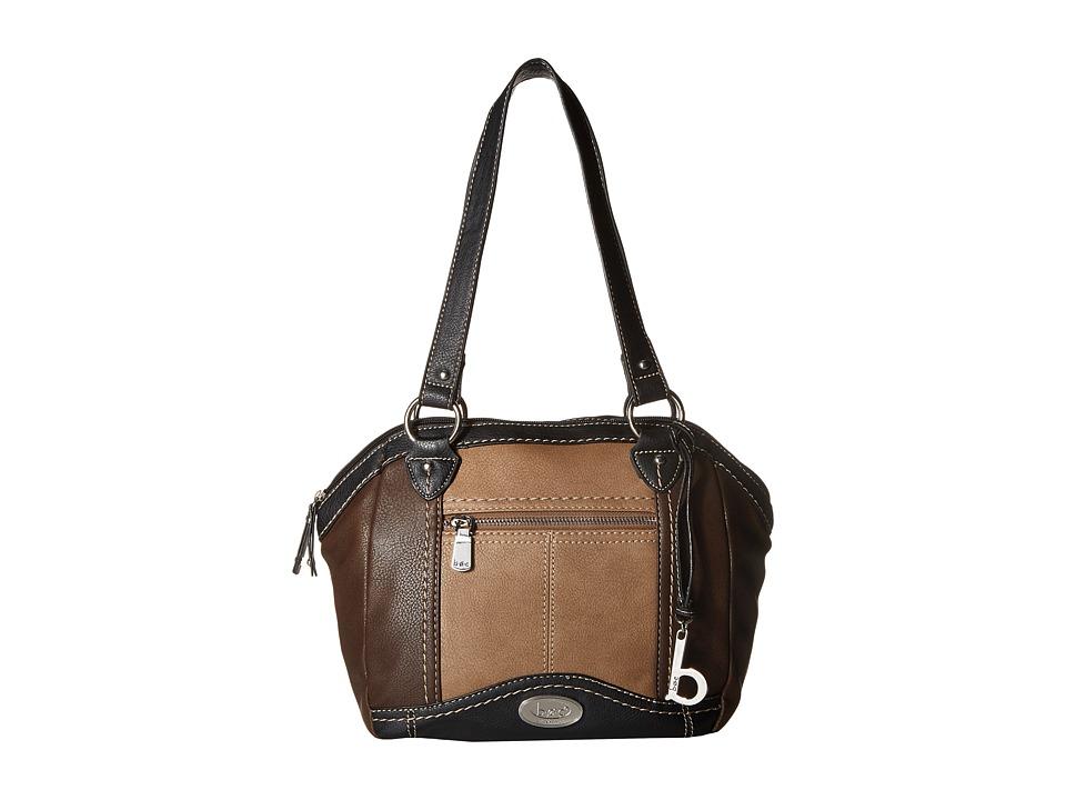b.o.c. - Bancroft Satchel (Neutral Color Block) Satchel Handbags