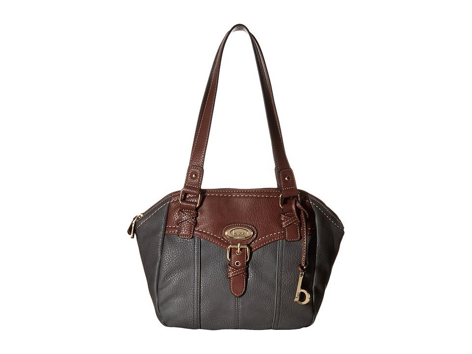 b.o.c. - Danford Satchel (Charcoal/Walnut) Satchel Handbags