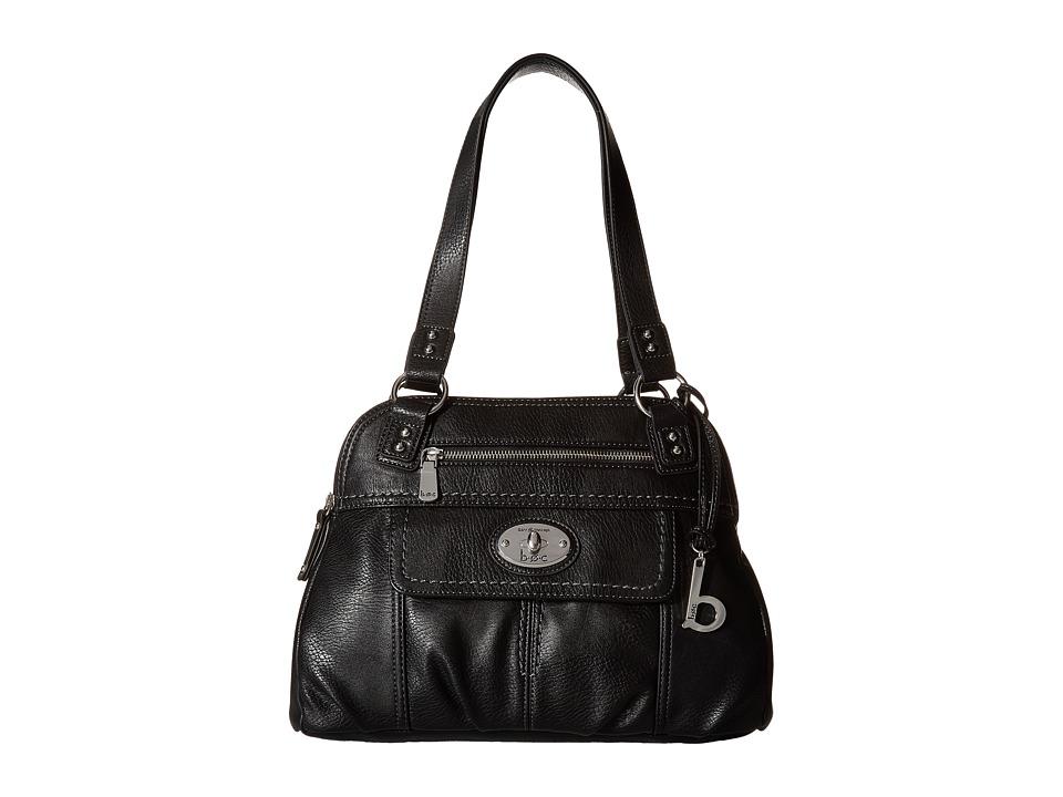 b.o.c. - Berwick Satchel (Black) Satchel Handbags