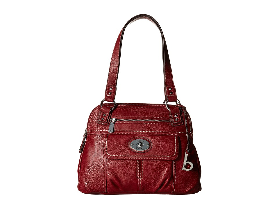 b.o.c. - Berwick Satchel (Burgundy) Satchel Handbags