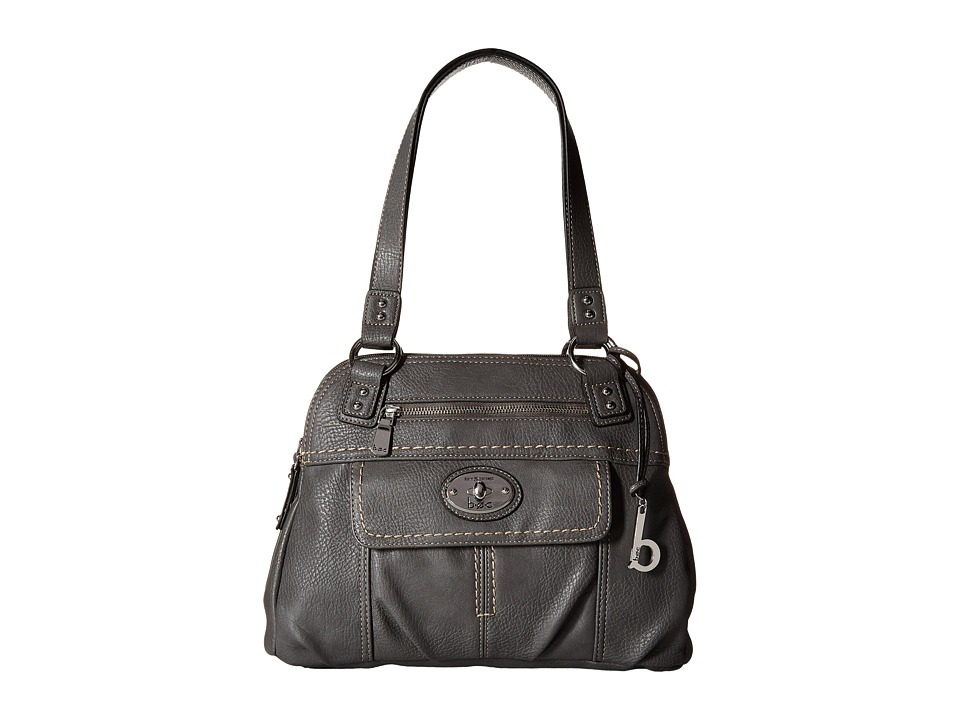b.o.c. - Berwick Satchel (Charcoal) Satchel Handbags