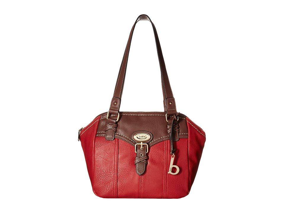 b.o.c. - Danford Satchel (Pimento/Walnut) Satchel Handbags
