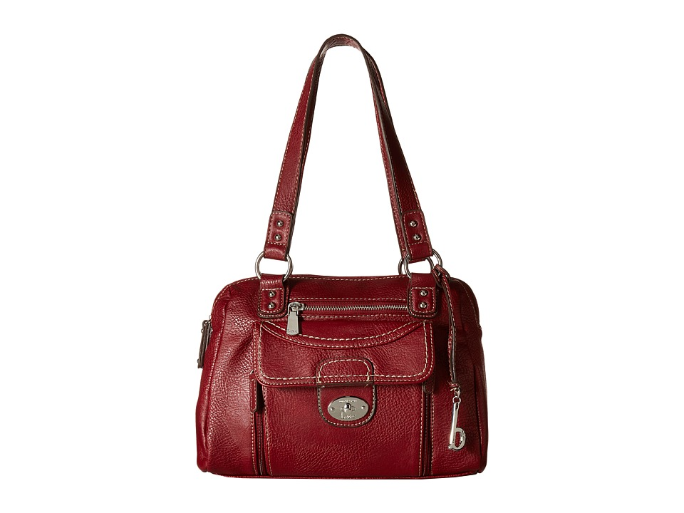 b.o.c. - Waltham Satchel (Burgundy) Satchel Handbags