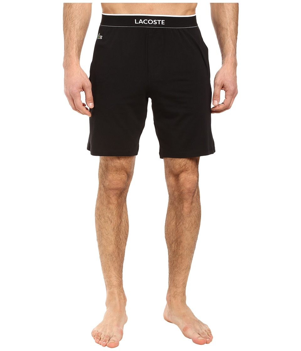 Lacoste - Sleep Jam (Black) Men's Pajama