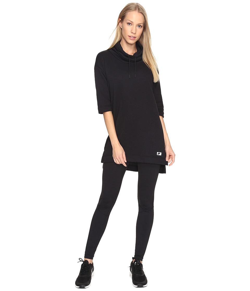 Nike - Sportswear Modern Top (Black/Black) Women's Clothing
