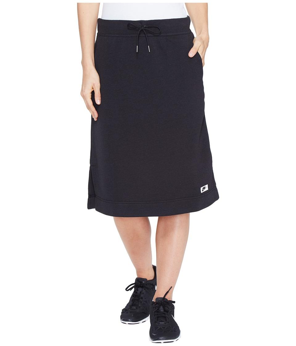 Nike - Sportswear Modern Skirt (Black/Black) Women's Skirt