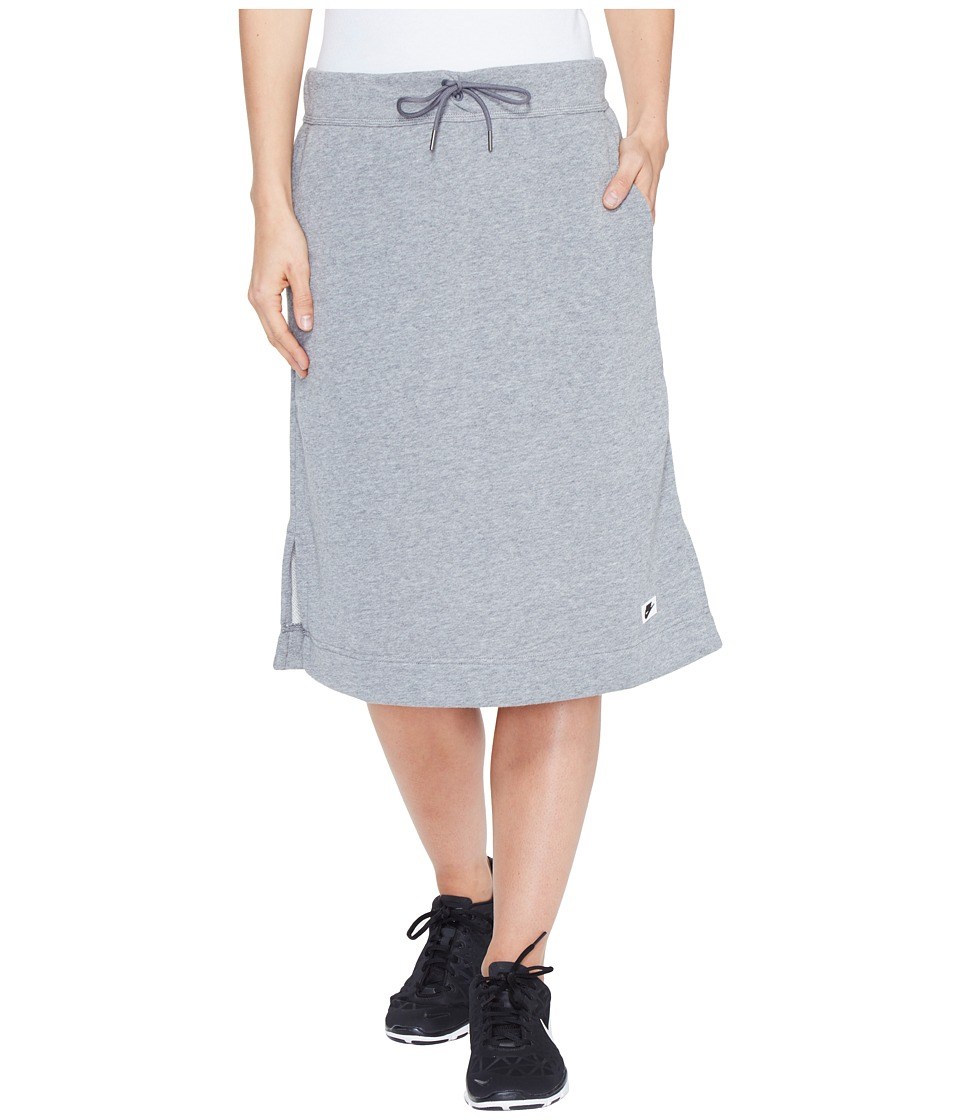 Nike - Sportswear Modern Skirt (Carbon Heather/Dark Grey) Women's Skirt