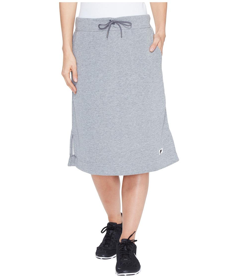 Nike - Sportswear Modern Skirt (Carbon Heather/Dark Grey) Women's Skirt