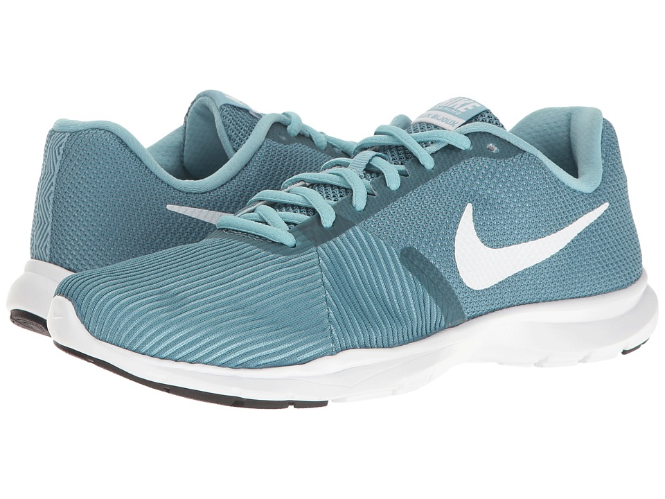 Nike - Flex Bijoux (Smokey Blue/White/Mica Blue/Black) Women's Cross Training Shoes