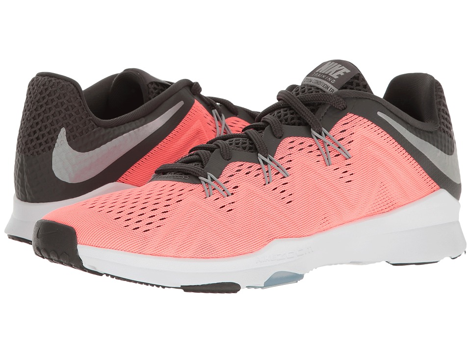 Nike - Zoom Condition TR (Lava Glow/Matte Silver/Midnight Fog) Women's Cross Training Shoes
