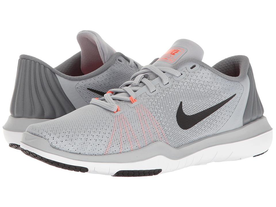 Nike - Flex Supreme TR 5 (Wolf Grey/Black/Cool Grey/Total Crimson) Women's Cross Training Shoes