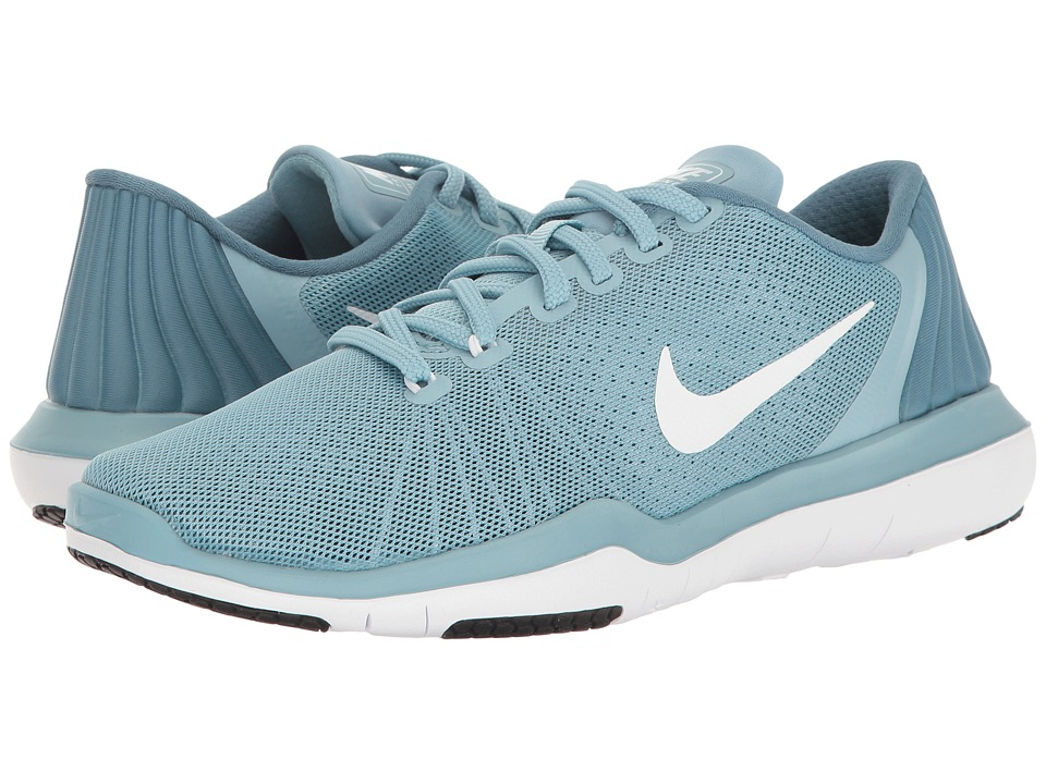 Nike - Flex Supreme TR 5 (Mica Blue/White/Smokey Blue/Legion Blue) Women's Cross Training Shoes