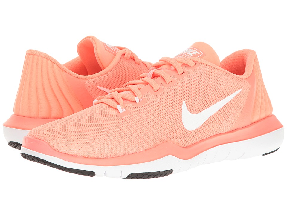 Nike - Flex Supreme TR 5 (Lava Glow/White/University Red/Black) Women's Cross Training Shoes