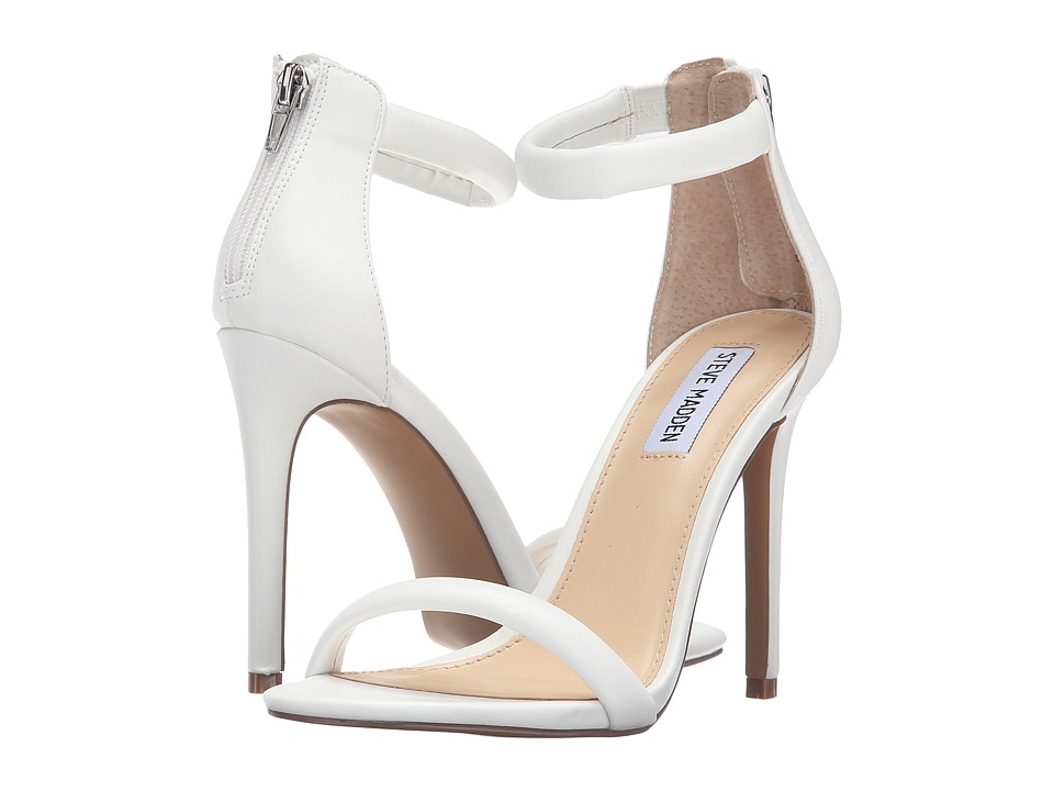 Steve Madden - Fancier (White) High Heels