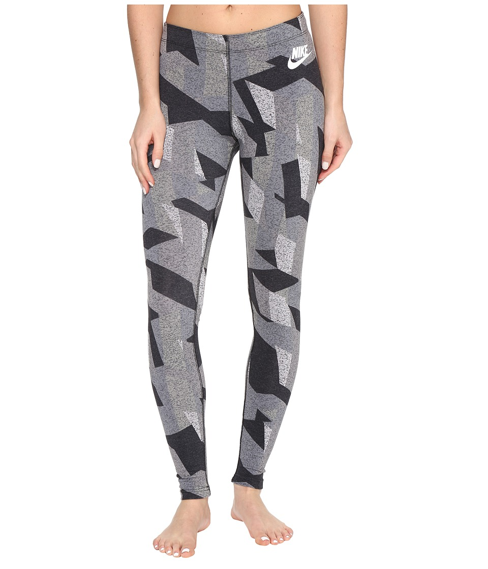 Nike - Sportswear Skyscraper Legging (Black/White) Women's Casual Pants