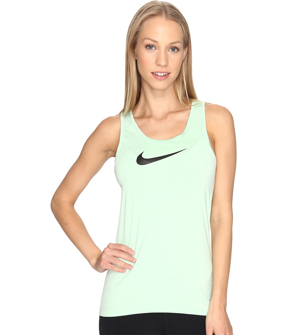 Nike - Pro Cool Training Tank Top (Fresh Mint/Black) Women's Sleeveless
