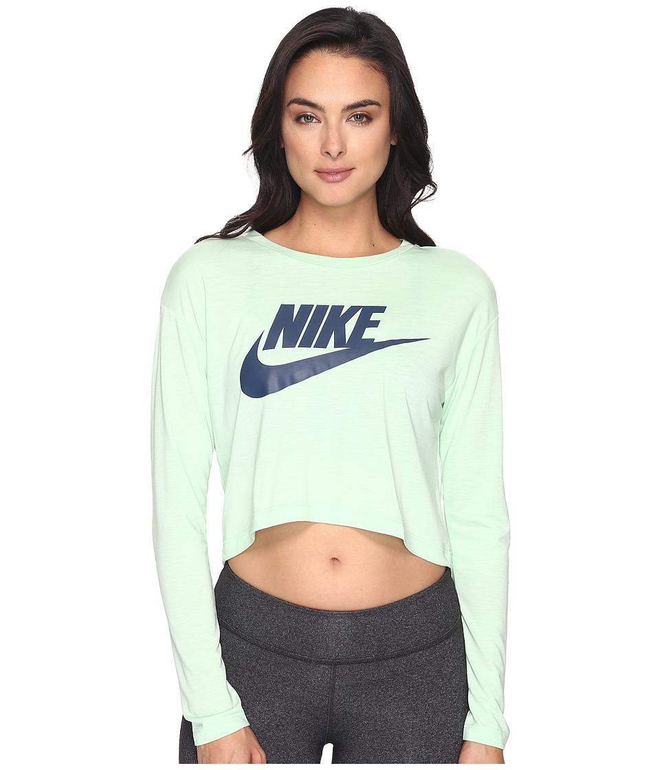 Nike - Sportswear Irreverent Crop Top (Fresh Mint/Fresh Mint/Squadron Blue) Women's Clothing