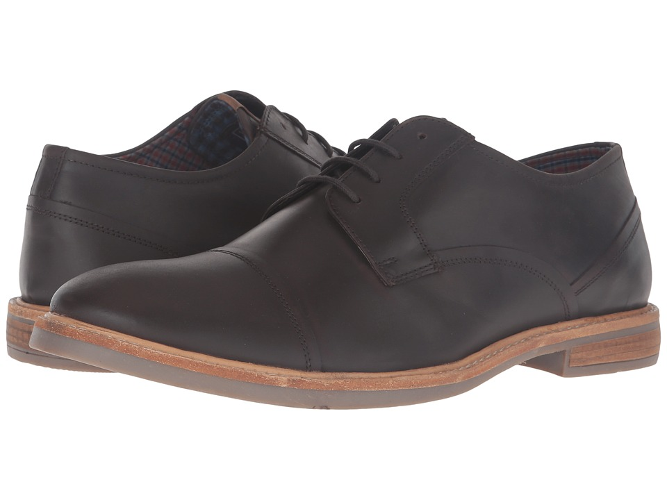 Ben Sherman - Luke Cap Toe (Brown Oil) Men's Shoes