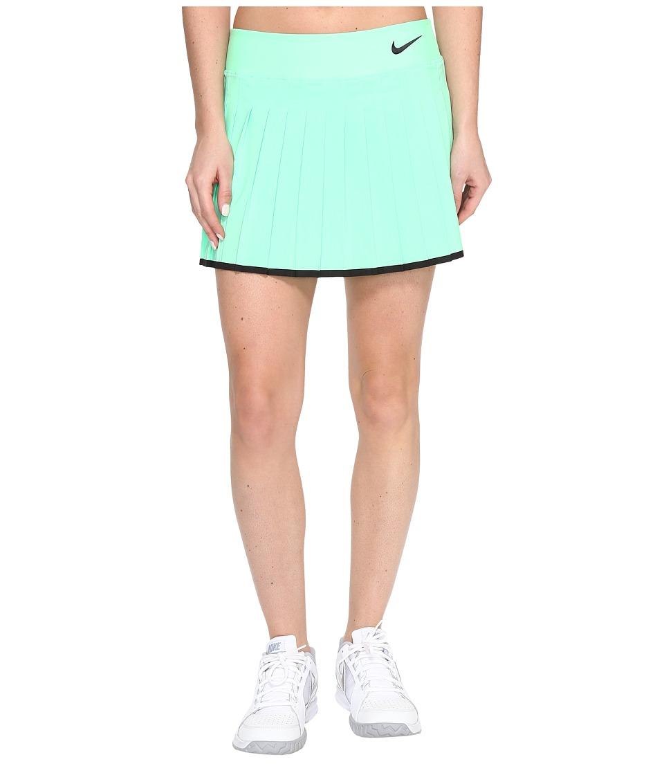 Nike - Victory Skirt (Electro Green/Black/Black) Women's Skort