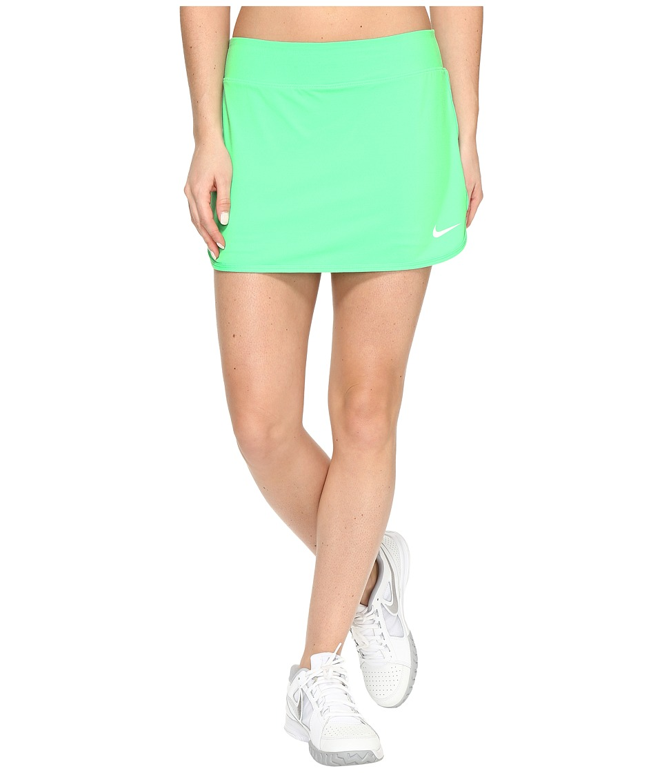 Nike - Pure Skirt (Electro Green/White) Women's Skort