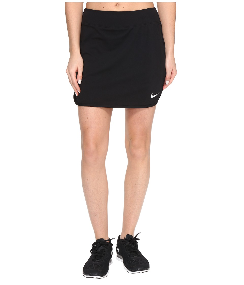 Nike - Court Pure 17 Tennis Skirt (Black/White) Women's Skort