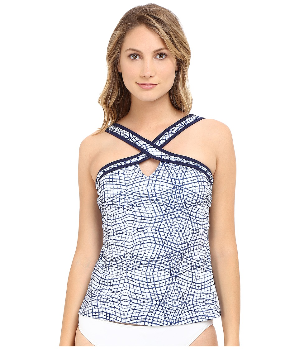 Nautica Broadway Mix Tankini NA37147 Navy Swimwear