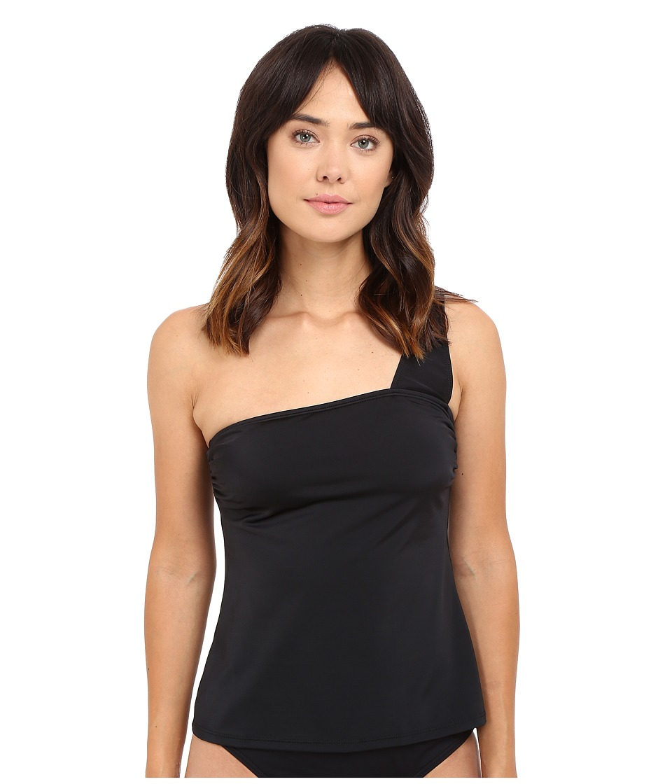 Nautica - Soho Solids Tankini NA40247 (Black) Women's Swimwear
