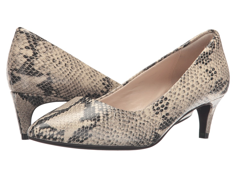 Cole Haan Amelia Grand Pump 45mm (Roccia Snake Print) Women