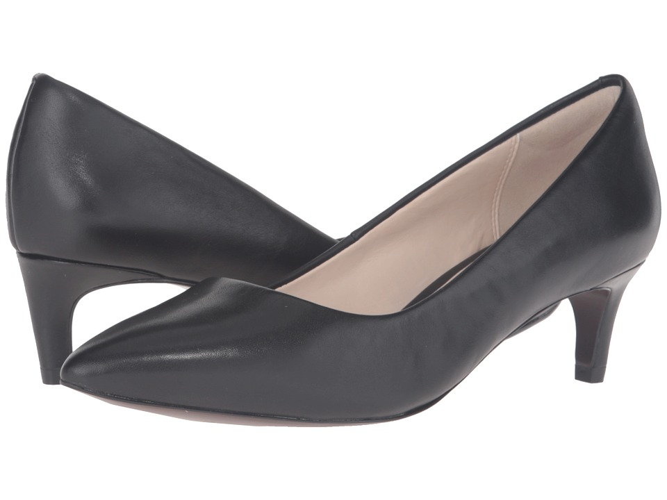 Cole Haan - Amelia Grand Pump 45mm (Black Leather) Women's Shoes