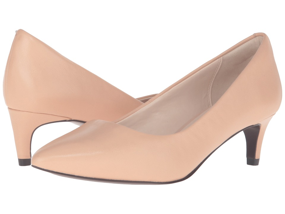 Cole Haan - Amelia Grand Pump 45mm (Nude Leather) Women's Shoes