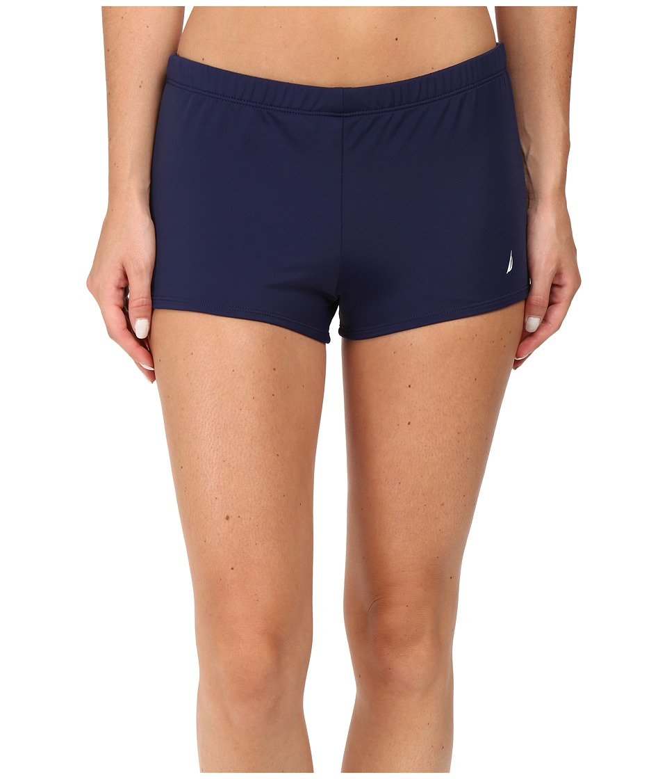 Nautica - Signature Boyshorts NA38377 (Navy) Women's Swimwear