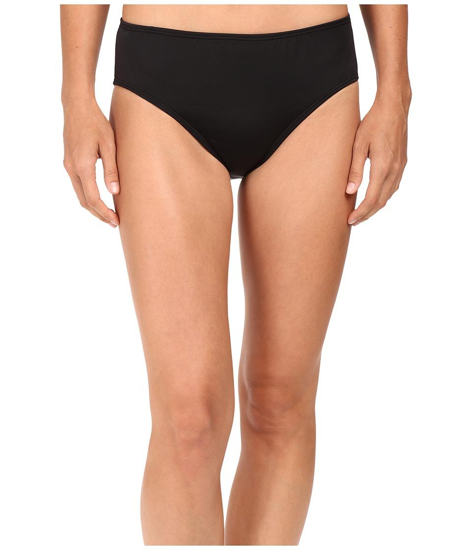 Nautica - Signature High Waist Pants NA38357 (Black) Women's Swimwear