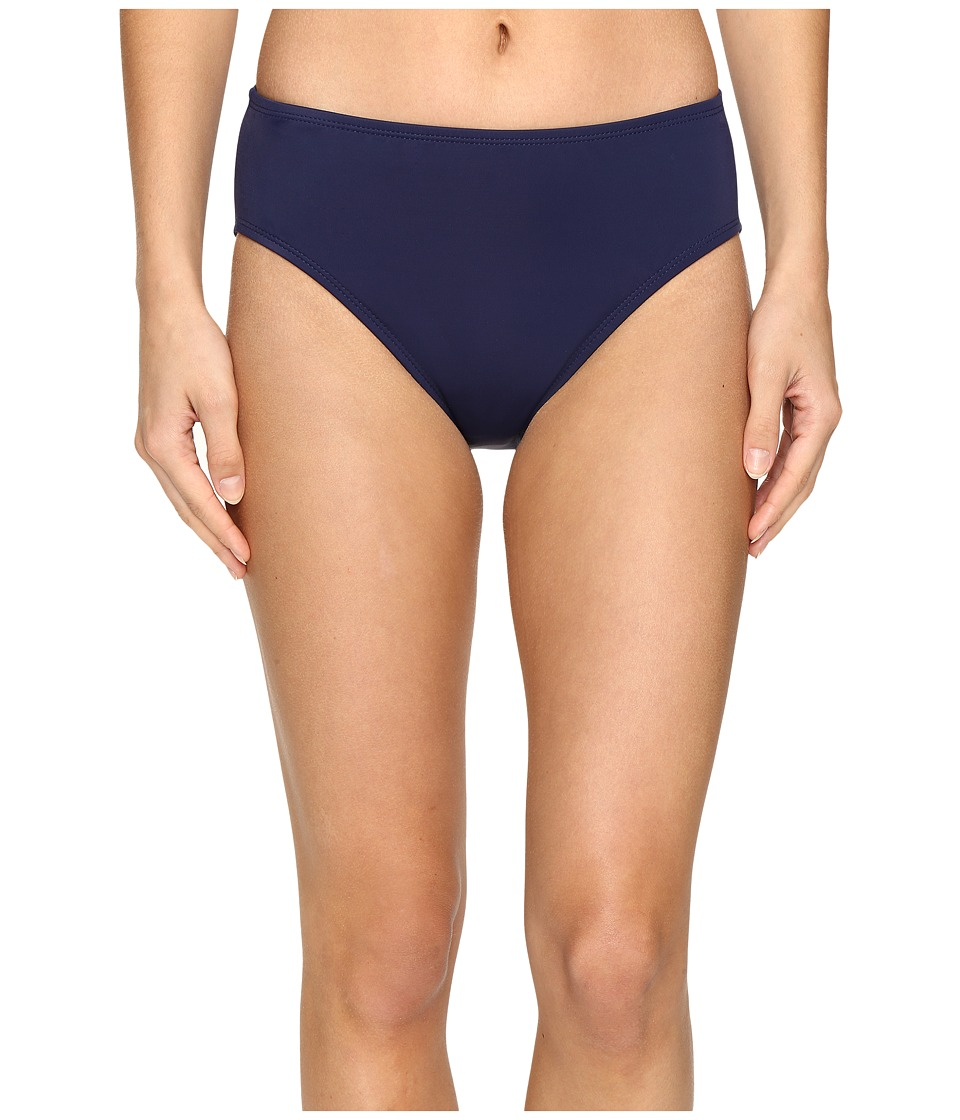 Nautica - Signature High Waist Pants NA38357 (Navy) Women's Swimwear