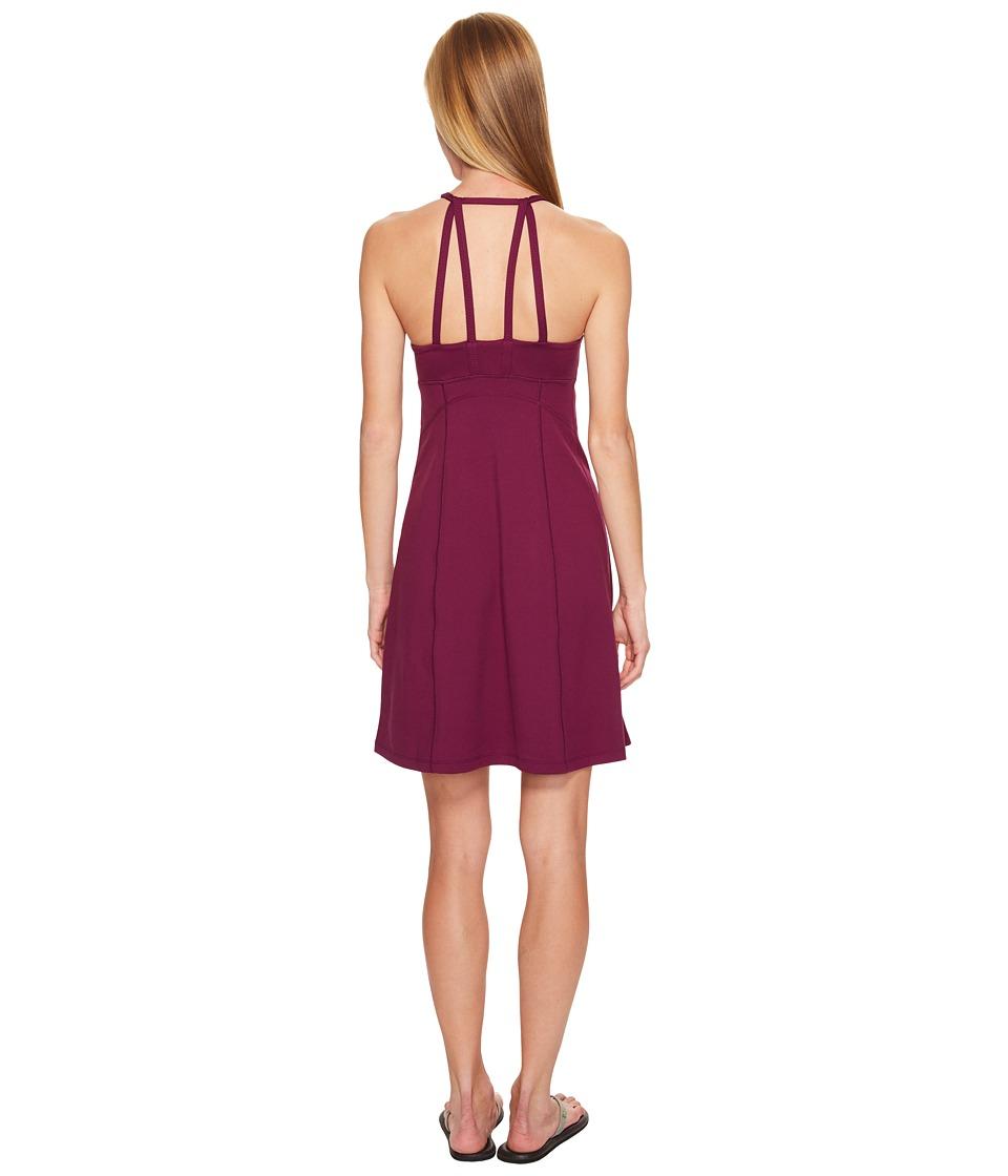 Marmot - Genevieve Dress (Deep Plum) Women's Dress