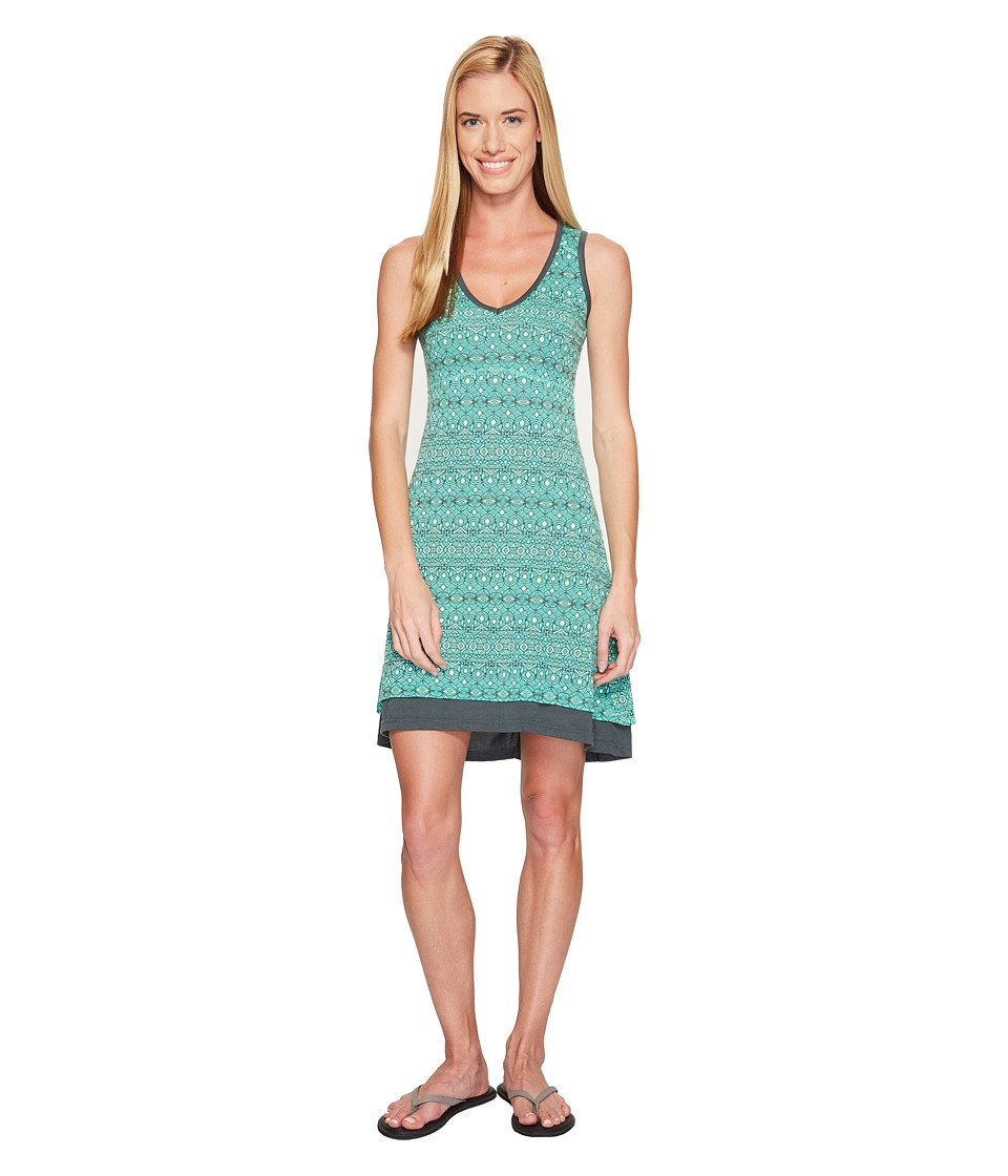 Marmot - Larissa Dress (Dark Zinc Sage) Women's Dress
