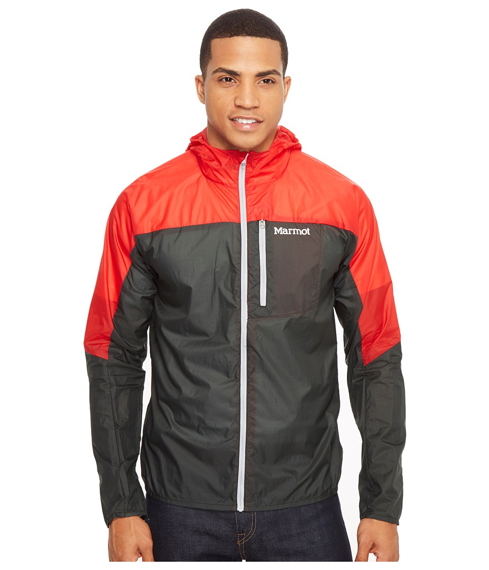 Marmot - Air Lite Jacket (Dark Zinc/Scarlet Red) Men's Coat