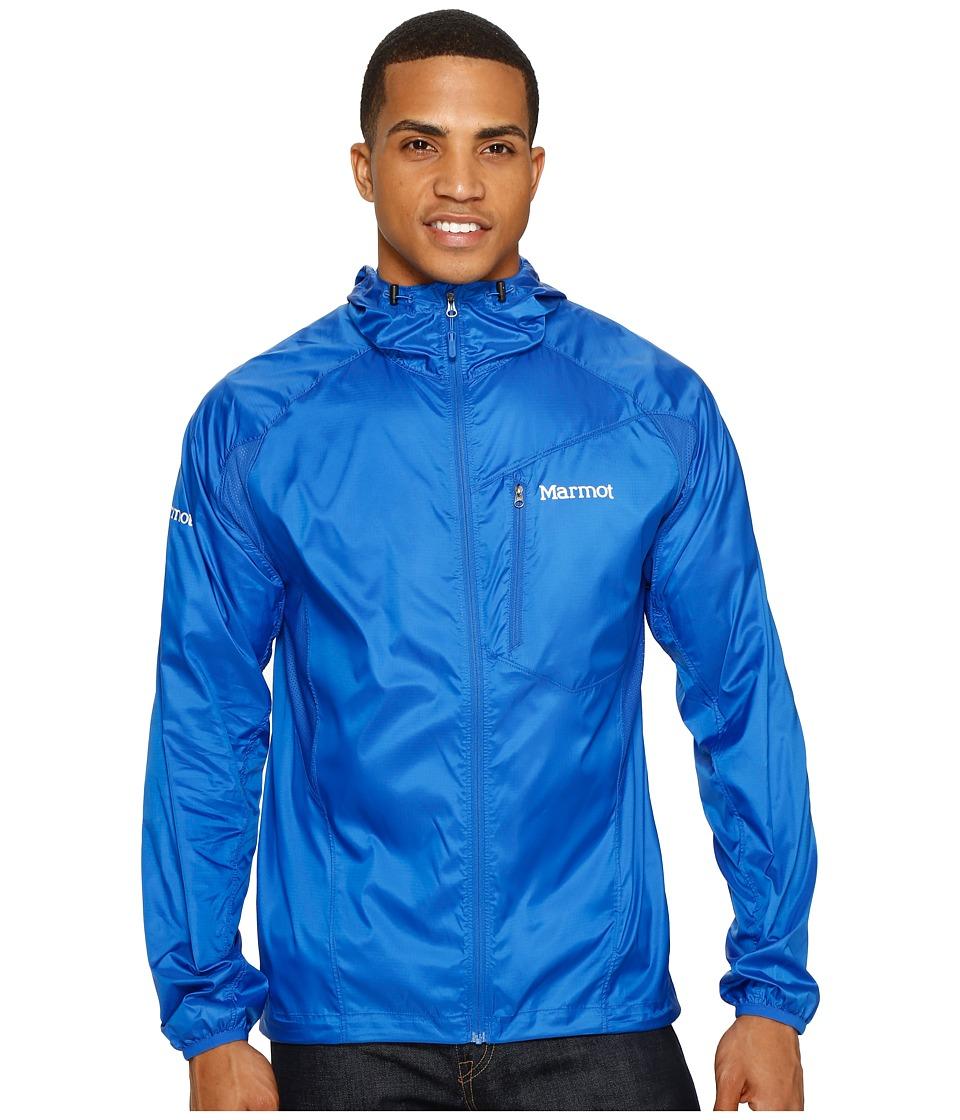 Marmot - Trail Wind Hoodie (True Blue) Men's Clothing