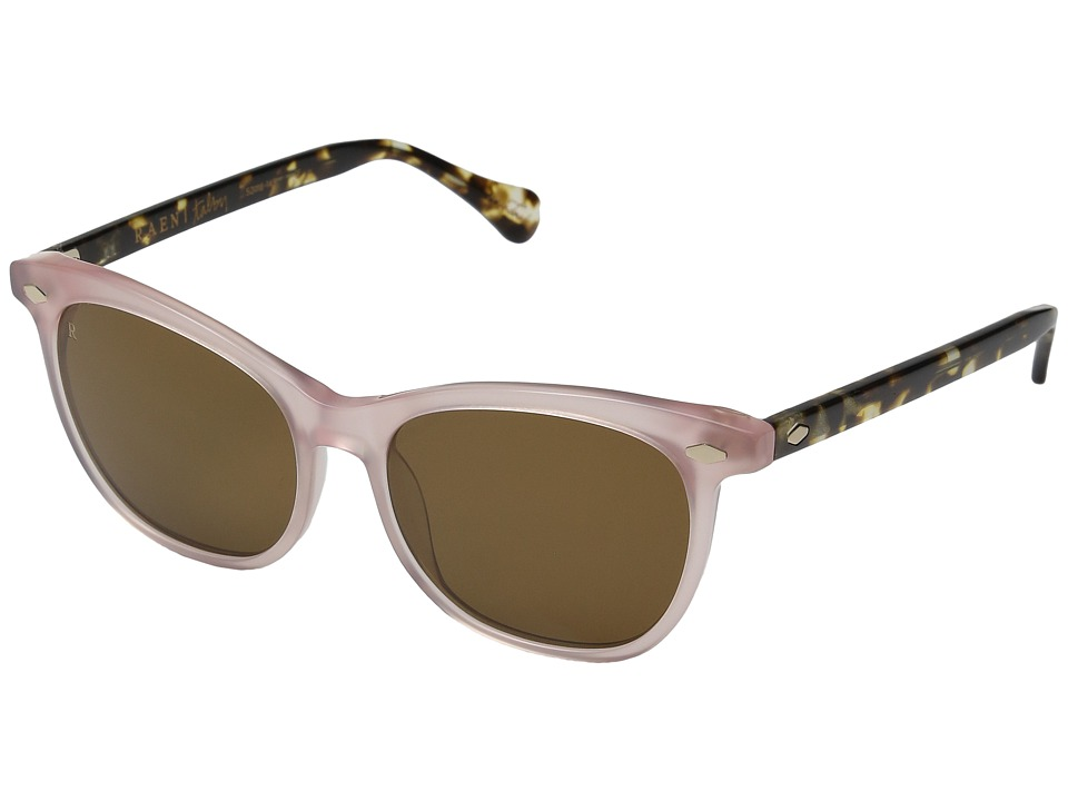 RAEN Optics - Talby (Brown w/ Petal Front/Brindle Tortoise Temple) Fashion Sunglasses